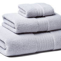 3-Pc Iz Towel Set, Soft Slate, Assorted Towel Sets
