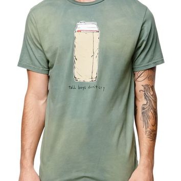 Volcom Tallboys Don't Cry T-Shirt - Mens Tee - Fern Green