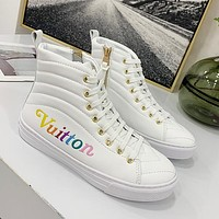 Women Fashion Casual High-Top Old Skool Shoes