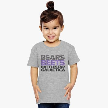 Bears, Beets, Battlestar Galactica Toddler T-shirt