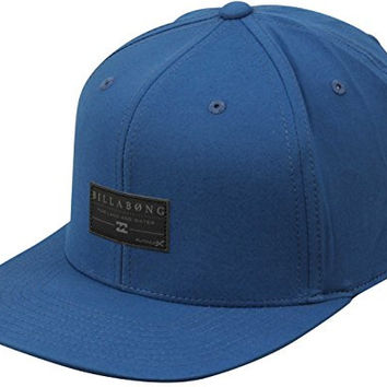 Billabong Men's Crossfire Adjustable Hat, Blue, One Size