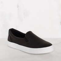 Second Nature Slip-On Sneakers - Black