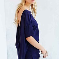 Truly Madly Deeply Cowl-Back Tee-