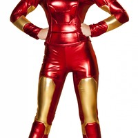 2pc Hot Metal Mistress Costume