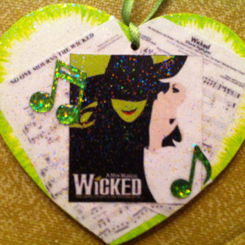 Wicked ornament or gift tag-free personalization