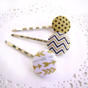 Hipster Bobby Pins, Arrow Bobby Pins, Spring Break, Summer Bobby Pins, Matching Bobby Pin Set, Hair Pin Set, Summer Hair Pins, Hair Gift Set