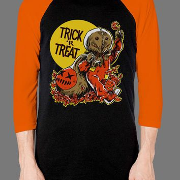 TRICK 'r TREAT - Vintage Halloween - Trick 'r Treat - Baseball Tee - Baseball Tee - Fright-Rags