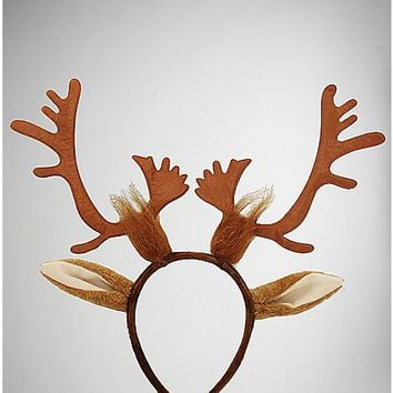Reindeer Antler Headband - Spencer's