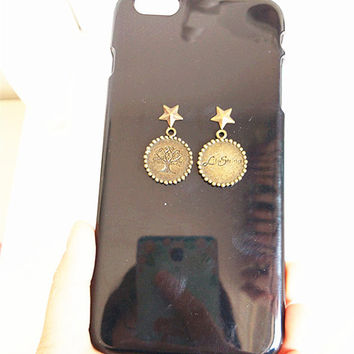 Live String Charm Phone Covers Case for iPhone 4 4s 5 5s for iphone 6 6s plus (Other phone models can be customized)