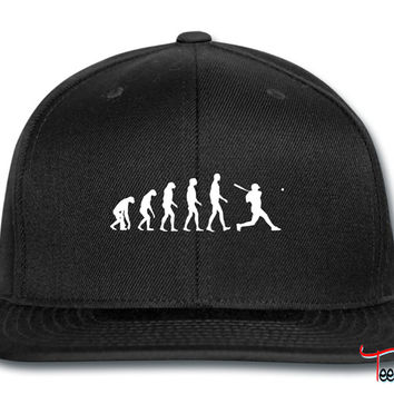 baseball evolution Snapback