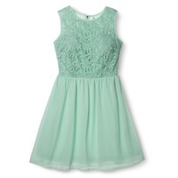 Xhilaration® Junior's Daisy Organza Dress - Assorted Colors