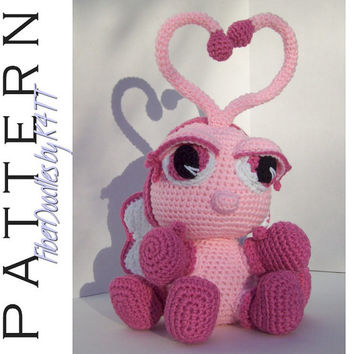 INSTANT DOWNLOAD : Layla the Amigurumi Lovebug Crochet Pattern