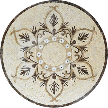 Classy Pattern Mosaic Table Top or Wall Art Or Floor Insert  MM314