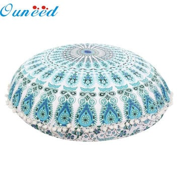 Mandala Floor Pillow / Meditation Cushion