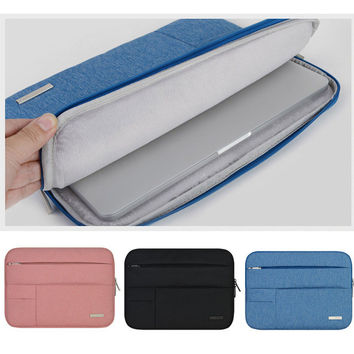 nylon Cover Case 11 13 inch protective laptop bag sleeve for apple macbook Air Pro Retina notebook bag