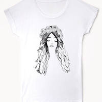 Garland Girl Sleep Shirt
