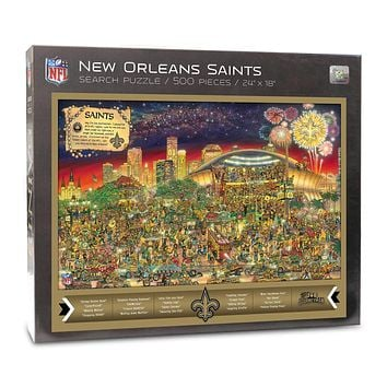 New Orleans Saints Find Joe Journeyman 500-piece Puzzle