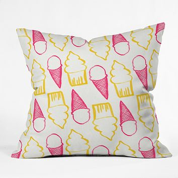 Allyson Johnson Sweet Treats Throw Pillow