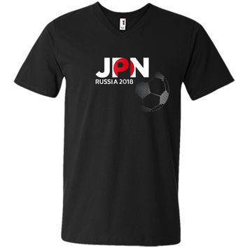 Japan JPN Soccer World Football Team Cup 2018 Russia T-Shirt