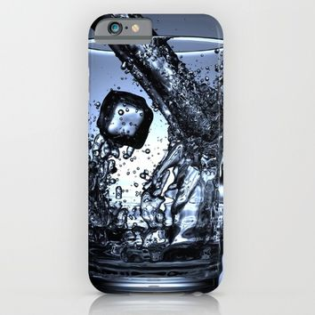 Glass of Water iPhone & iPod Case by Mixed Imagery