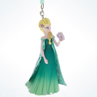 Disney Parks Frozen Fever Summer Elsa 3D Christmas Ornament New with Tags