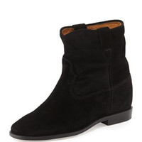 Isabel Marant Crisi Flat Western Ankle Boot
