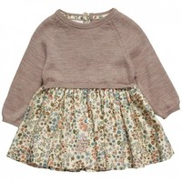 Liberty of London Joubert Print Baby Jumper Dress