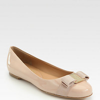 Varina Patent Leather Ballet Flats - Zoom - Saks Fifth Avenue Mobile