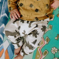Moose Print Leggings