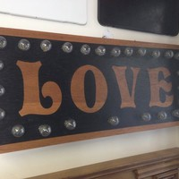Love Lighted Sign Wall art