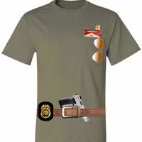 Adult Pocket T Shirt Javier Pena Costume Best Halloween Ideas