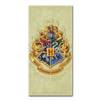 Harry Potter Crest Beach Towels (28in x 58in)