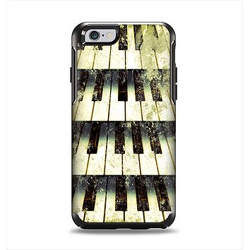 The Vintage Pianos Keys Apple iPhone 6 Otterbox Symmetry Case Skin Set