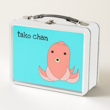 Tako chan metal lunch box