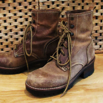 Best Vintage Military Boots Products on Wanelo