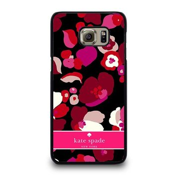 KATE SPADE NEW YORK FLORAL Samsung Galaxy S6 Case Cover