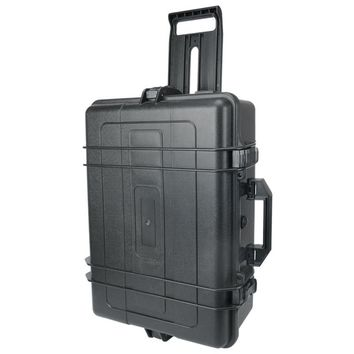 Photographic trolly hard trolly for vidoe equipment strong firm tool luggage/ fully protection box / lamp box CD50