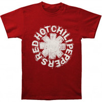Red Hot Chili Peppers Chalk Slim Fit T-shirt - Red Hot Chili Peppers - R - Artists/Groups - Rockabilia