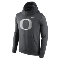 Nike College Hybrid Fleece Pullover (Oregon) Men's Hoodie