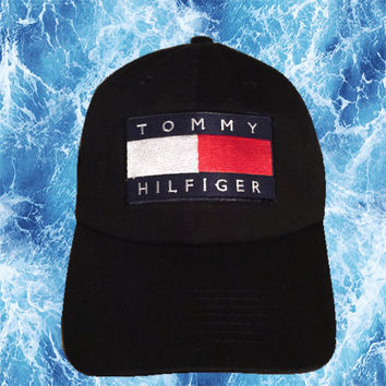 Tommy Hilfiger Dad Hat (Black)