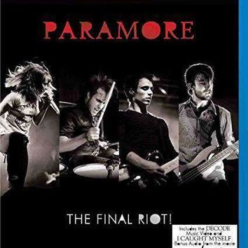 Paramore: The Final Riot on Blu-Ray
