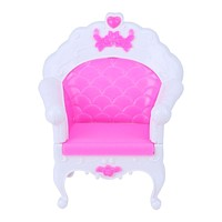 Dolls Accessories Fashion Princess Sofa Armchair Girl Toys Sweet Dreamlike Furniture for Barbie Doll Gift Toys For Baby Kids