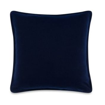 Kenneth Cole Reaction Home Mineral Square Throw Pillow in Indigo