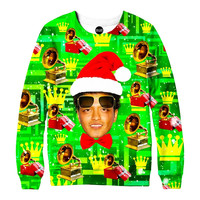 Bruno Mars Christmas Sweatshirt