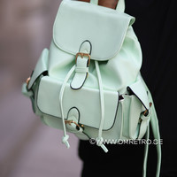 Neon Backpack - Mint Green