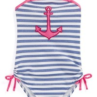 Love U Lots One-Piece Swimsuit (Toddler Girls)