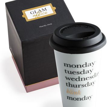 Weekdays Travel Mug