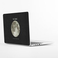 The Earth's Moon Laptop Skin