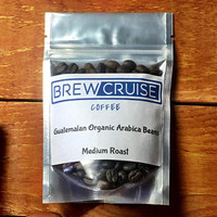 Fresh Roasted Small Batch Guatemalan Arabica Whole Roasted Coffee Beans Medium Roast 2oz Sample