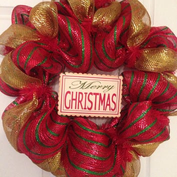 Deco Mesh Wreaths by DecoMeshWreathShop on Etsy